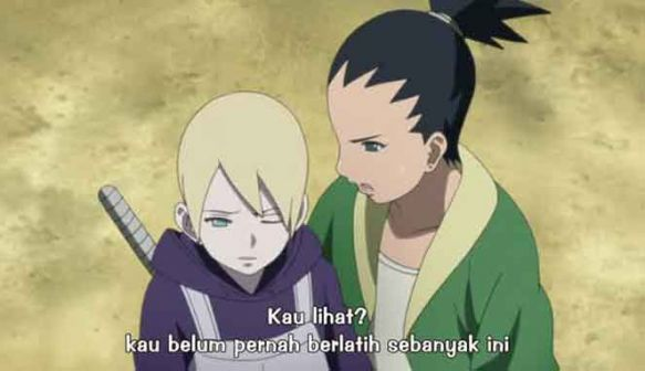 Boruto Episode 33 Subtitle IndonesiaSmell magic in the air. Or maybe barbecue