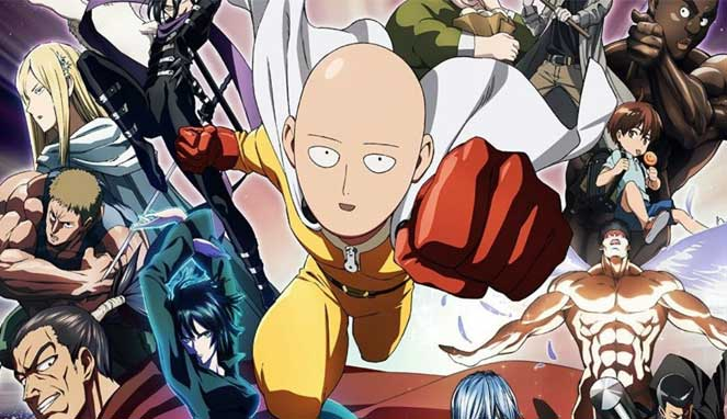 One Punch Man Season 2 Subtitle Indonesia Episode 1 - 12