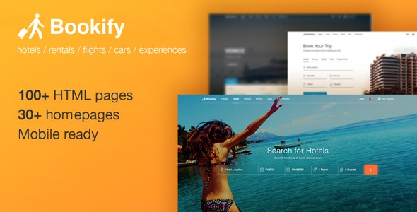 10 Hotel, Resort and Travel  HTML website templates