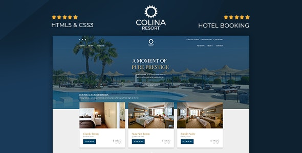 20 Hotel, Resort and Travel  HTML templates