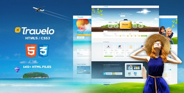30 Hotel and Travel  HTML website templates