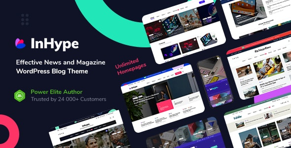 25 WordPress Blog Themes & Magazine Themes